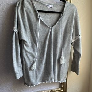 Pullover top with fun detailing